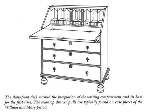 part front desk 137 best images about diagrams of antique furniture on