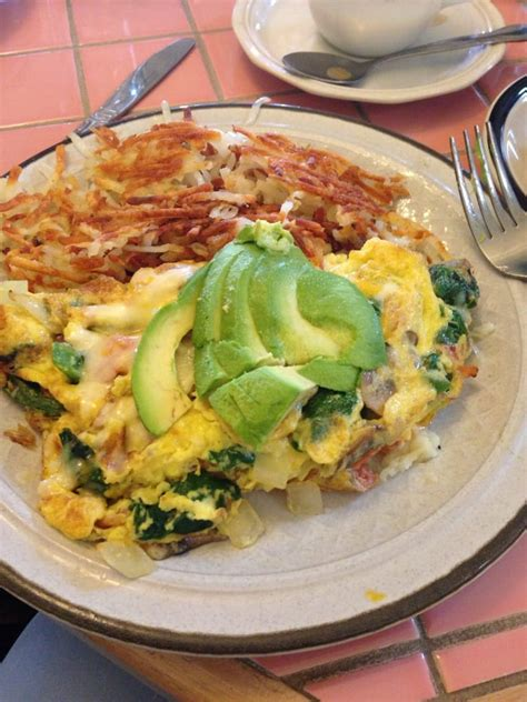 fresno breakfast house veggie omlet w avocados yelp