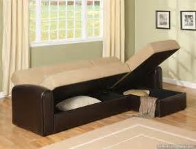 sleeper sofa and storage