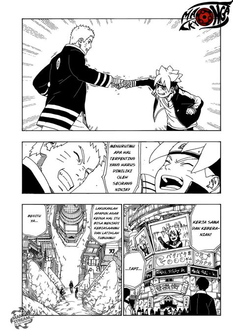 boruto ujian chunin bahasa indonesia komik boruto chapter 10 bahasa indonesia