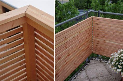 terrassenmöbel modern verkleidung design balkon