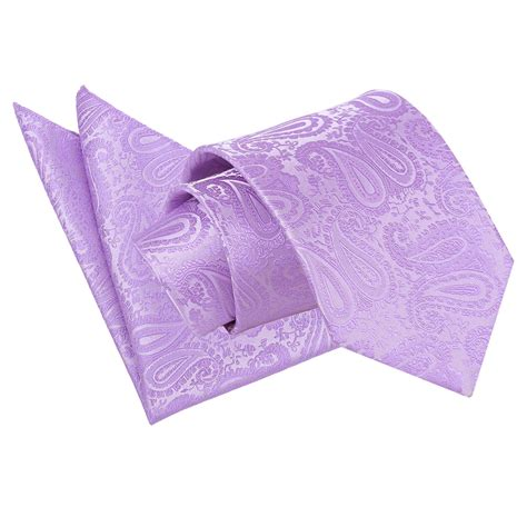 s paisley lilac tie 2 pc set