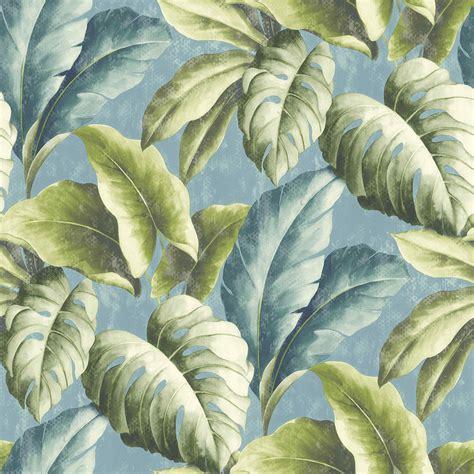 Etno tapéta - Termékek - Diego Mint Leaves Wallpaper