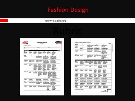 fashion illustration rubric fashion design power point
