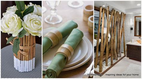 bamboo sticks home decor 18 epic bamboo crafts for your home and decor