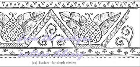 antique pattern library embroidery needlecraft free designs for embroidery from the antique