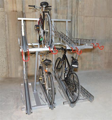 Buke Rack by Hi Density Bike Rack Cyclesafe