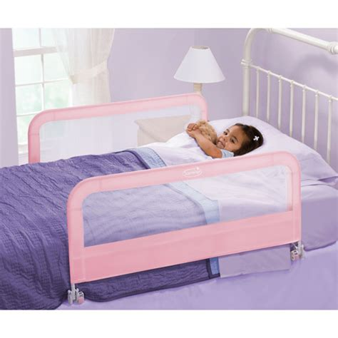 double bed rail summer infant sure and secure double fold down bedrail walmart com