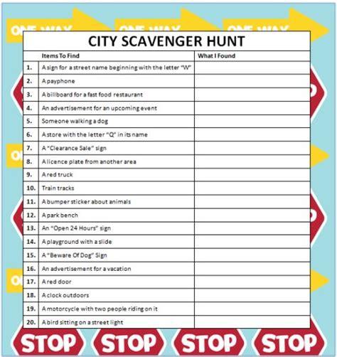 idea hunt best 25 scavenger hunts ideas on pinterest scavenger