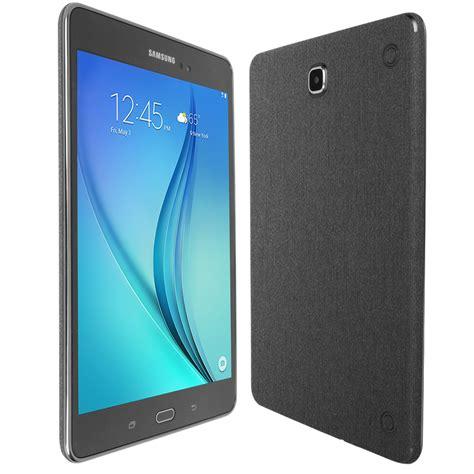 Galaxy Tab A 8 skinomi techskin samsung galaxy tab a 8 0 brushed steel