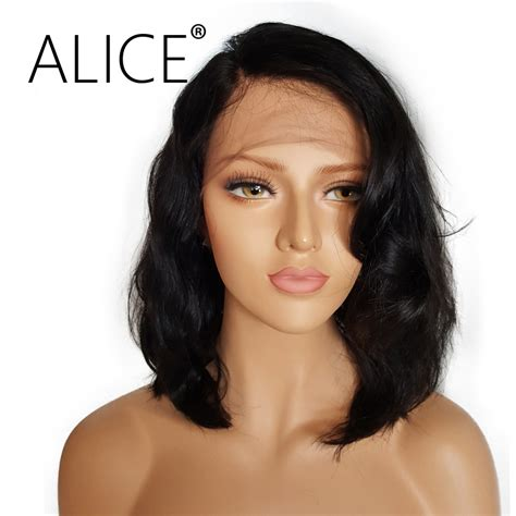 glueless lace front human hair wigs with baby