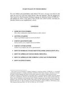 italian cover letter cover letter exles in italian
