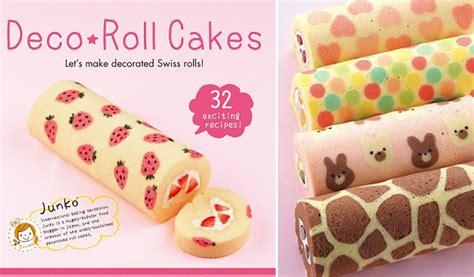 japanese patterned swiss roll swiss roll art tutorial cake geek magazine