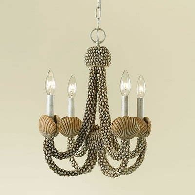 186 Best Shell Art Lighting Images On Pinterest Sea White Shell Chandelier
