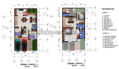 desain rumah ukuran 8x15 1 lantai desain rumah minimalis di lahan 8 x 15 m2 desain rumah