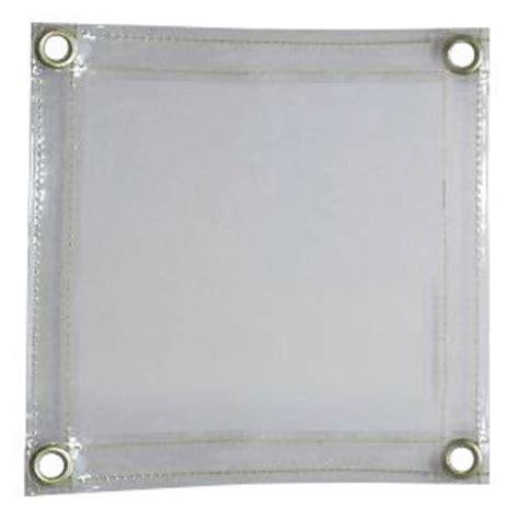 clear welding curtains airgas til605r68 tillman 6 x 8 14 mil clear