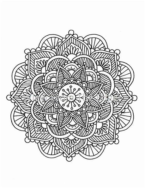 Mehndi Coloring Pages   Coloring Home