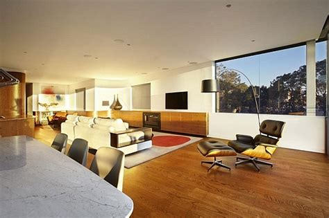 design apartment bellevue sweeping views of sydney and lovely earth tones shape the