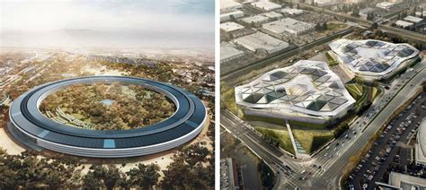 apple headquarters nvidia s new translucent hq wants to one up apple s