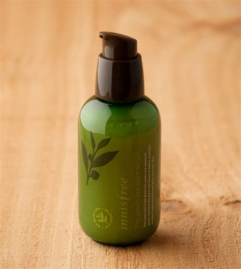 Teh Green Tea skin care the green tea seed serum innisfree