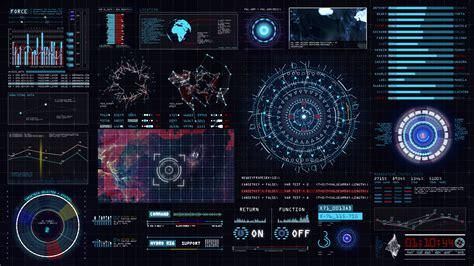 sci fi interface hud by baev s videohive