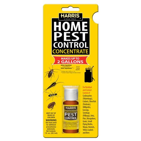 harris home pest concentrate pf harris