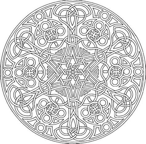 Mandalas Coloring Part 3 Mandala Free Coloring Pages