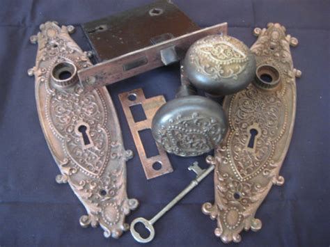 rococo style door knob set from sargent hardware by