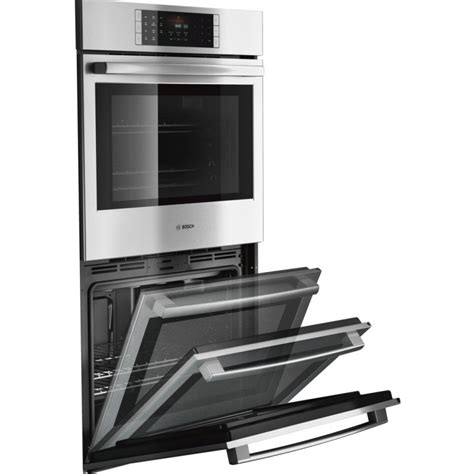 bosch wall oven with warming drawer bosch hblp651uc benchmark 30 quot stainless steel