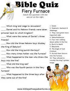 free bible quiz fiery furnace bible quiz shadrach