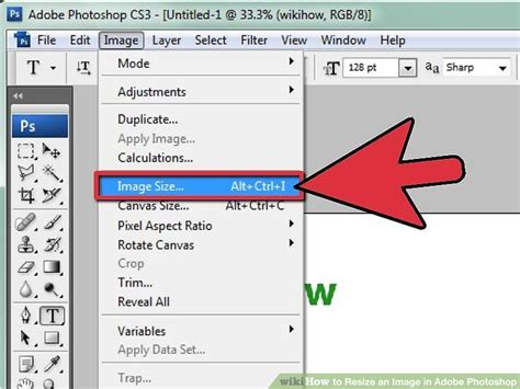 downsize image how to resize an image in adobe photoshop 7 steps with