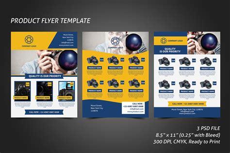 product flyer product flyer template flyer templates creative market
