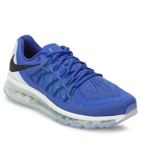 air max sports shoes nike air max 2015 blue sports shoes price in india buy