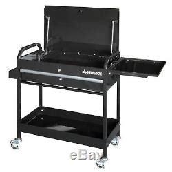 Garage Shop Tool Utility Cart 1 Drawer Rolling Portable