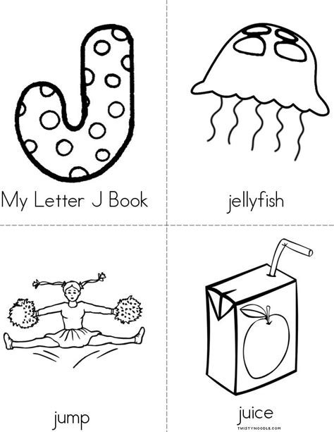 letters to my books my letter j book twisty noodle