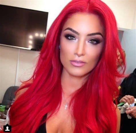 wwe paige red pubic hair natalie eva marie red hair total divas wwe hair