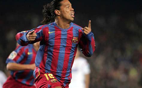 barcelona firming  ronaldinhos deal   club ambassador