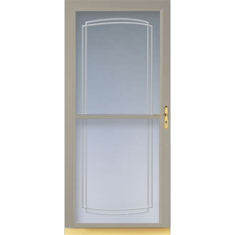 Larson Screen Doors by Shop Larson Tradewinds Sandstone View Tempered Glass