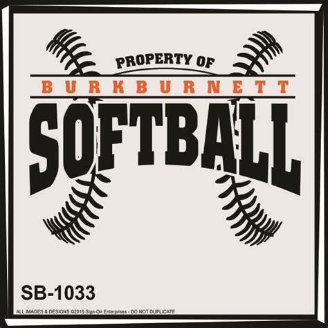softball design templates softball designs sign on enterprises