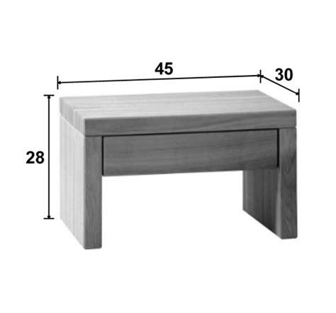 dimension table de nuit chevet en bois de ch 234 ne 1 tiroir bouquet 5757