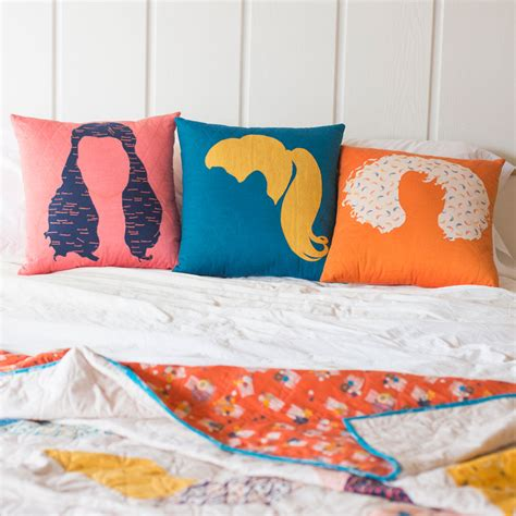 hair day pillow set tutorial 171 iadorepattern