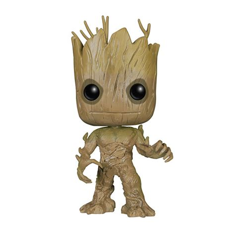 Funko Pop Groot Guardians Of The Galaxy guardians of the galaxy vinyl pop figures thinkgeek