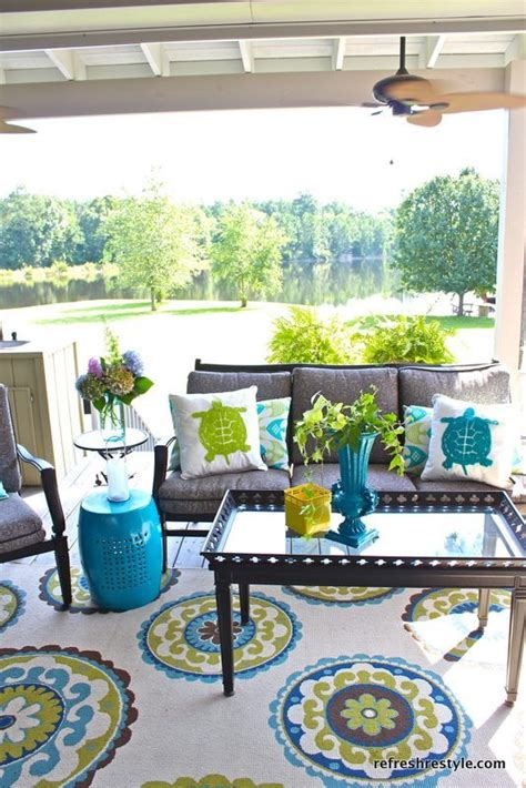 outdoor patio decor ideas how to refresh your porch refresh restyle