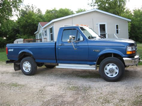 1995 F250 Specs by 95f250lifted 1995 Ford F250 Regular Cablong Bed Specs