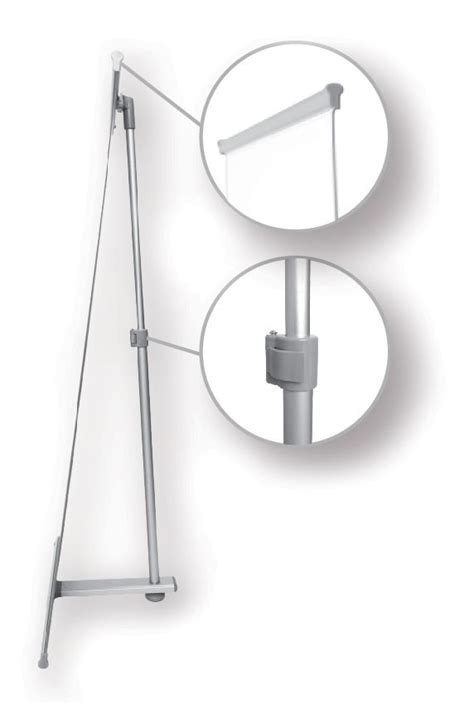 table top l stand table top banner stand