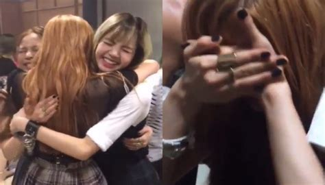 blackpink debut stage blackpink break down in happy tears after debut