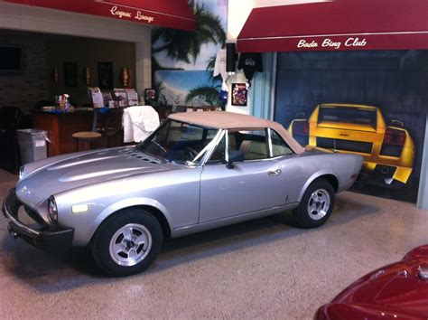 fiat spider 2000 for sale 1980 fiat 124 spider 2000 for sale