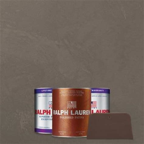 ralph 1 qt silvered pearl pewter polished patina interior specialty paint kit pp106 04k