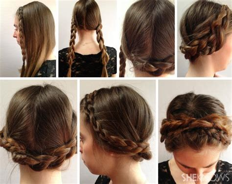 easy braid hairstyles to do yourself do it yourself trendy braided hairstyle
