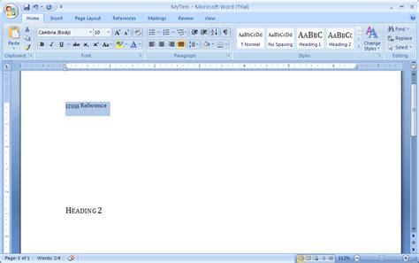 Microsoft Word 2007 revision history ask libreoffice